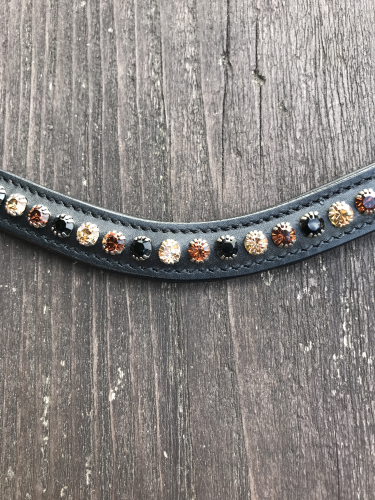 Stirnriemen black-copper-LCT