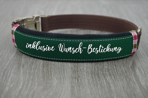Dogband green-black