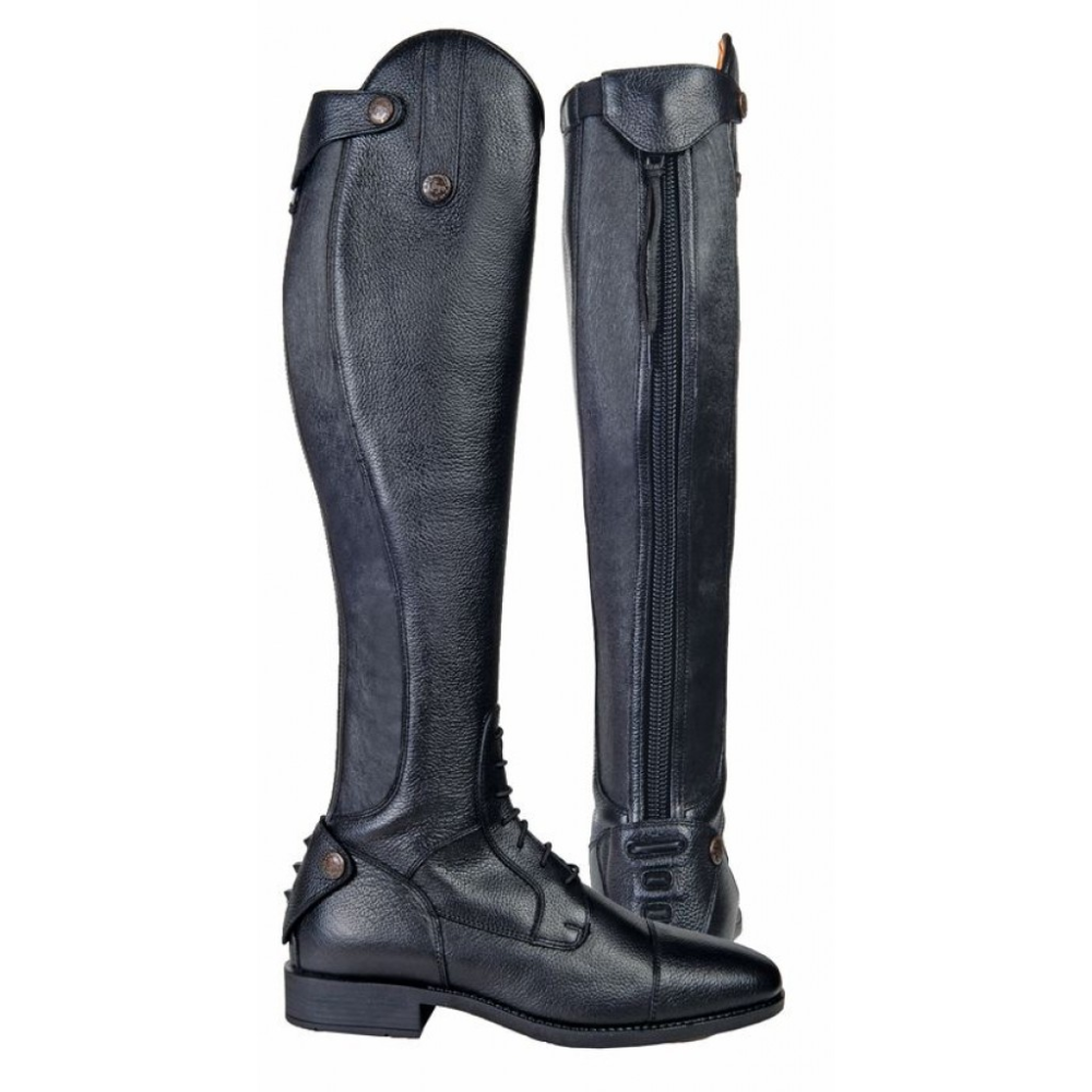 HKM Reitstiefel LATINIUM STYLE extra lang schwarz 36 L