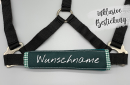 Noseband darkgreen PONY