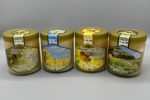 Imker Honig Sortiment Markus Bienenland