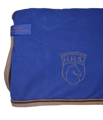 BR HHS Fleece Abschwitzdecke Event royal-taupe