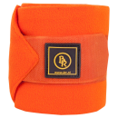 BR Fleece Bandagen Pony Event Sunset Orange Pony