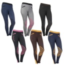 HKM Reitleggings Starlight Knie Grip