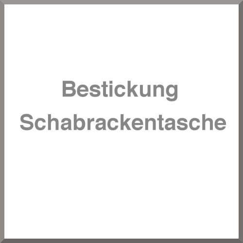 Bestickung Schabracketasche
